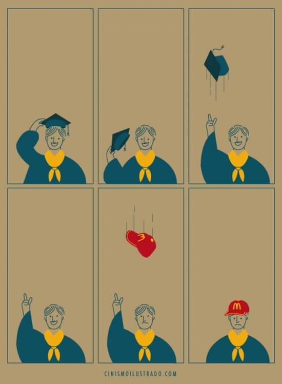 Иллюстрация Эдуардо Саллеса